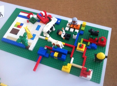 Lego Serious Play Modell