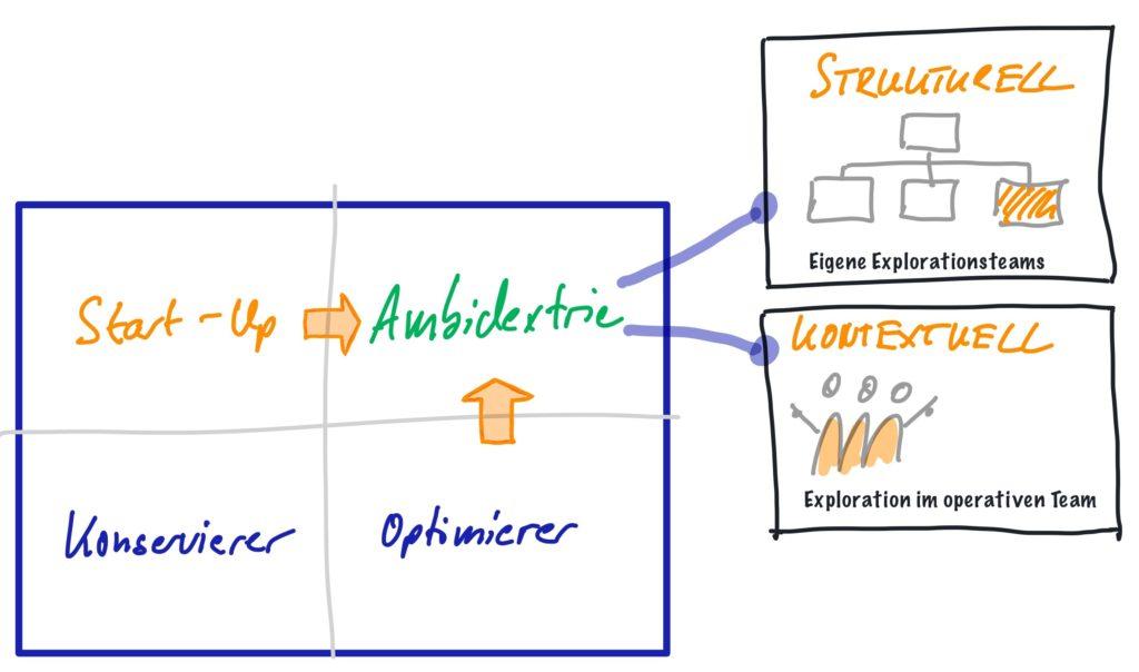 Ambidextrie strukturell und kontextuell