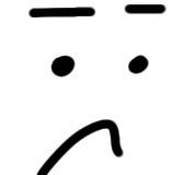 Gesicht sketchnote straight down