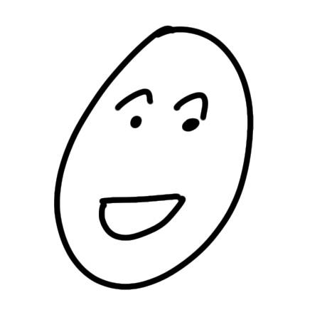 Glückliches Gesicht