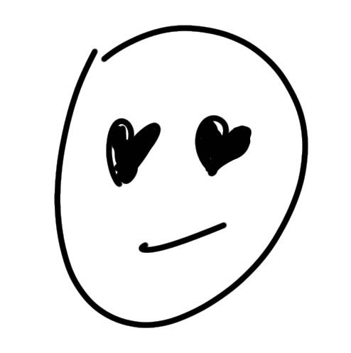 Herz Gesicht