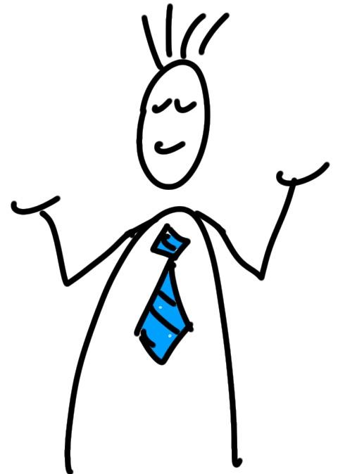 Krawatten Figur