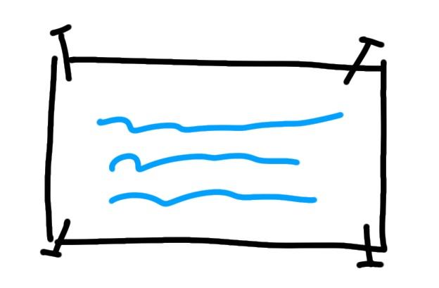 Nagel Wand Symbol