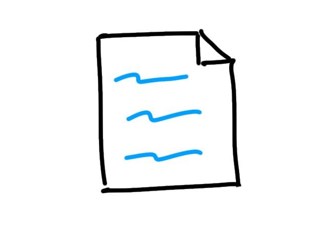 Sketchnote Blatt