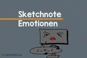 Sketchnote Emotionen