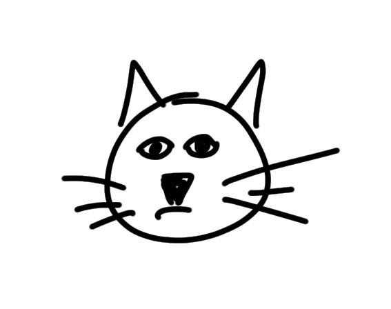 Sketchnote Katze zeichnen