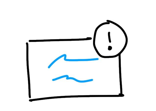 Sketchnote Wichtig Rahmen