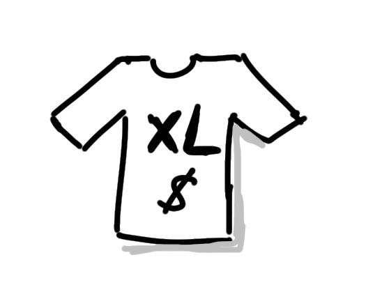 Symbol für hohe Kosten