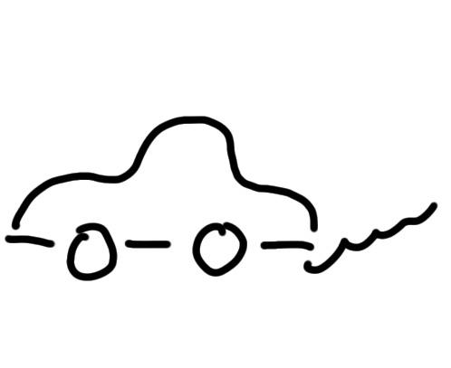 sketchnote Auto zeichnen