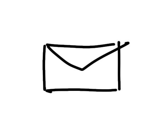 sketchnote Brief zeichnen