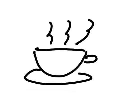 sketchnote Kaffee zeichnen