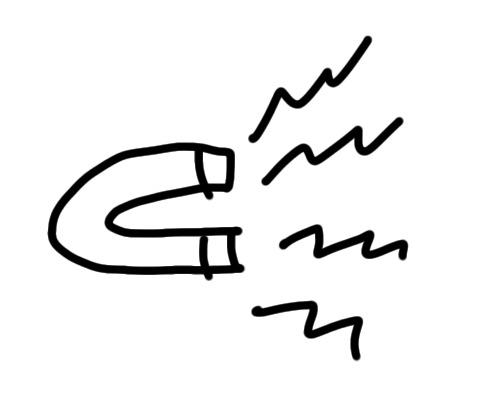 sketchnote Magnet zeichnen
