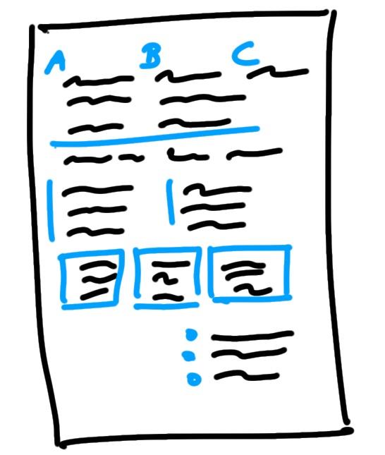 sketchnote layout klassisch